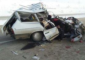 Afyonkarahisar'da feci kaza meydana geldi: 2 ölü