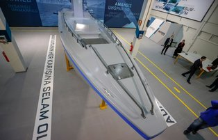 Turkey unveils locally-produced armed unmanned marine vehicle