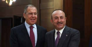 Turkish, Russian FMs hold talks ahead of Erdoğans trip