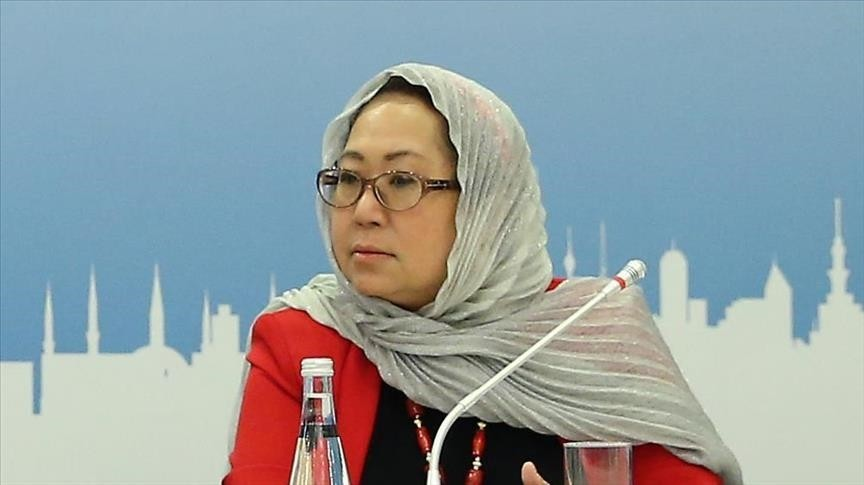 Chief of World Humanitarian Summit Secretariat Jemilah Mahmood (AA Photo)