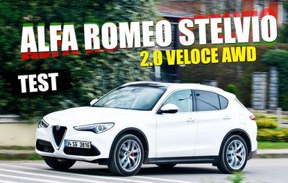 TEST · ALFA ROMEO STELVİO 2.0 VELOCE AWD