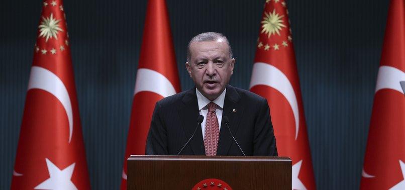 TURKEY TO END NATIONWIDE CURFEW AS OF JULY 1, PRESIDENT ERDOĞAN SAYS