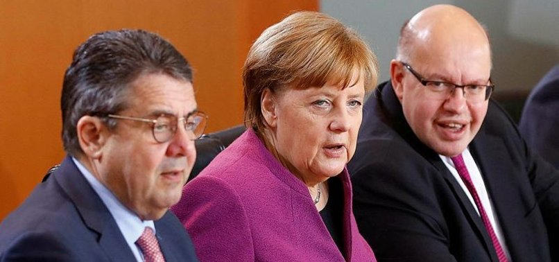 GERMAN FOREIGN MINISTER GABRIEL NOT TO BE IN NEW GOVERNMENT
