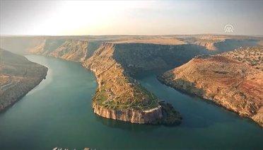 Zeugma ve Fırat Nehrinin Tanıtımı İçin Özel Görüntü Çekildi