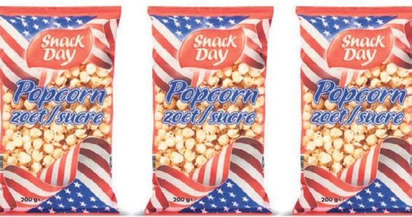 Şekerli patlamış mısırlara dikkat