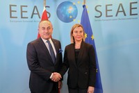 Turkish, EU foreign policy chiefs committed to continuing dialogue