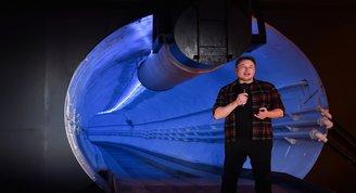 Elon Muskın yer altı tüneli
