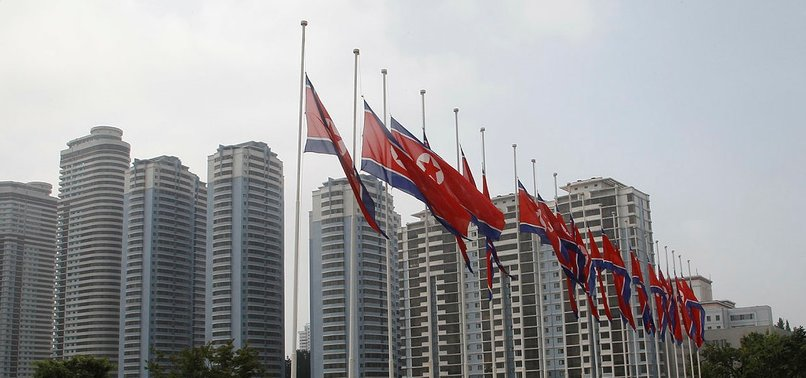 N.KOREA DENOUNCES UK FOR SANCTIONS ON ORGANISATIONS ACCUSED OF LINKS TO PRISON CAMPS