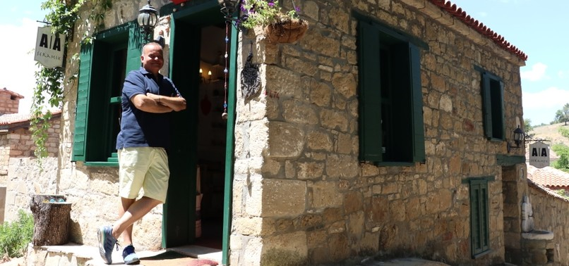 MAN FINDS PEACE IN SMALL VILLAGE AFTER LEAVING CITY BEHIND