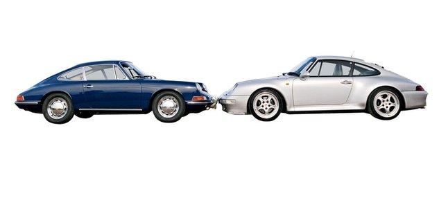 KARŞILAŞTIRMA · Porsche 901, Porsche 911