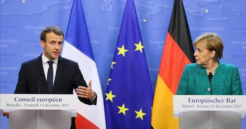 Trumpa karşı Fransa-Almanya dayanışması