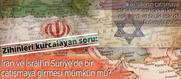 Suriye'de İsrail-İran savaşına doğru