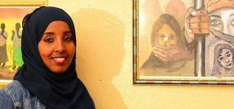 SOMALI WOMAN PROMOTES PEACE THROUGH ART