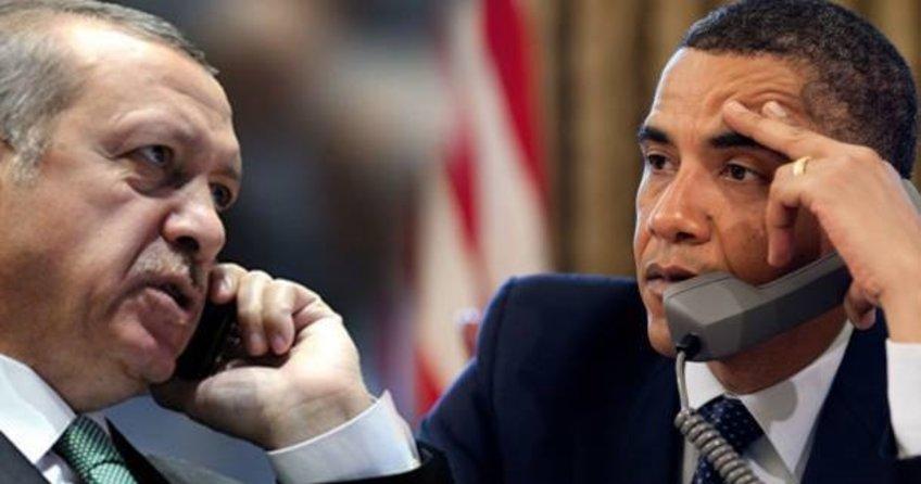 Cumhurbaşkanı Erdoğan ve ABD Başkanı Obama'dan kritik görüşme