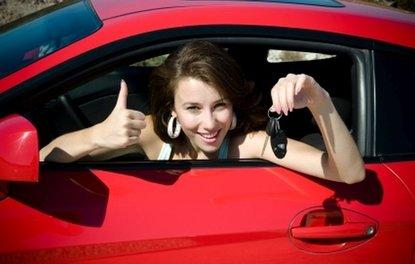 Kadınların otomobil zevki rafine