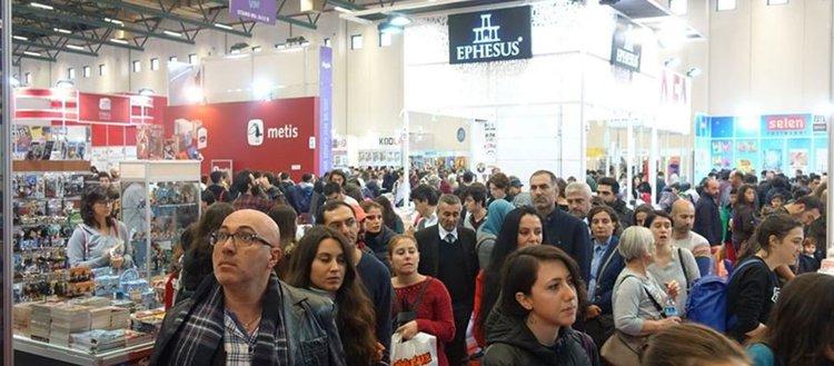 '38. Uluslararası İstanbul Kitap Fuarı' 2 Kasım'da başlıyor