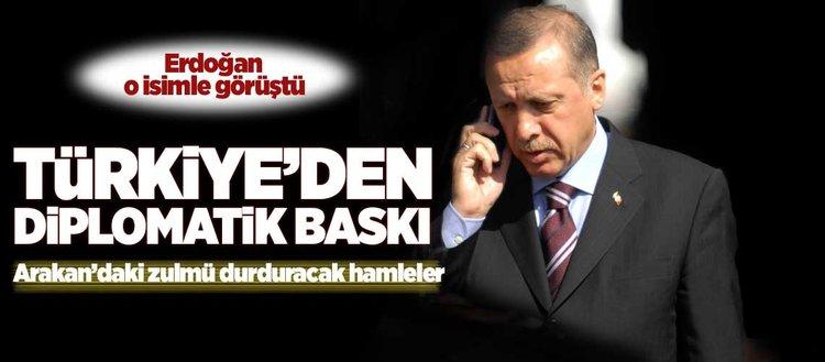 Türkiye'den diplomatik baskı