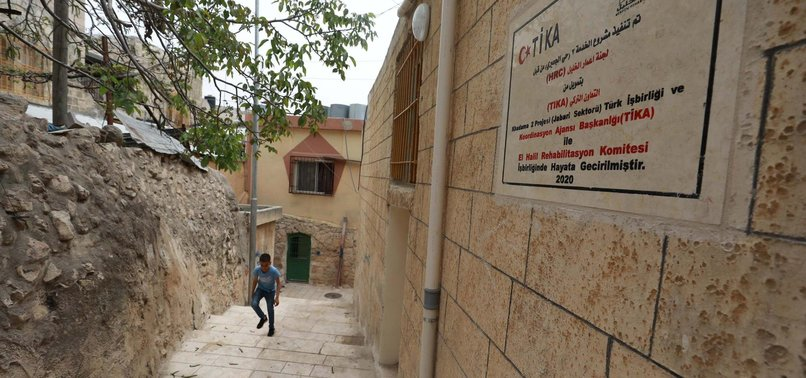 TIKA BRINGS LIFE BACK TO HOMES IN HEBRON
