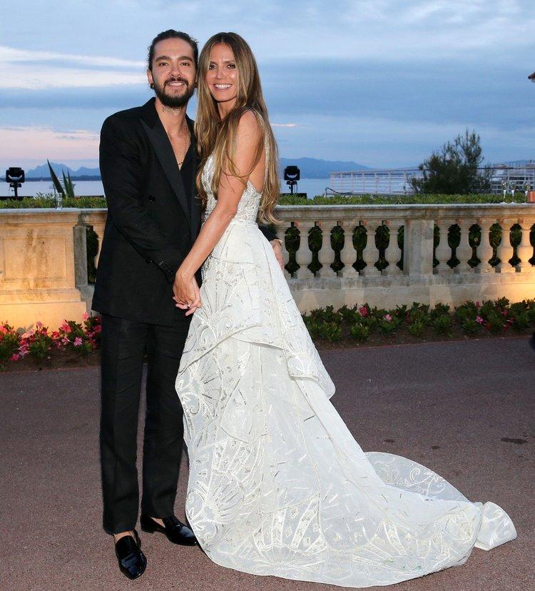 Heidi Klum ile Tom Kaulitz gizlice evlendi