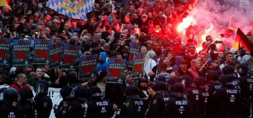 GERMANY REPORTS NEW RECORD HIGH IN FAR-RIGHT CRIMES