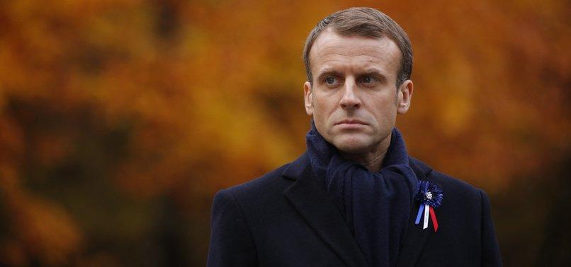 FRANCES MACRON BACKS EUROPEAN ARMY IDEA
