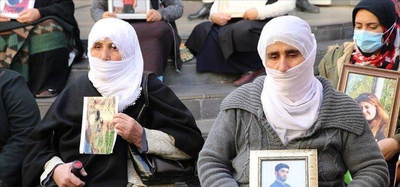2 MORE KURDISH FAMILIES JOIN ANTI-PKK SIT-IN PROTEST IN DIYARBAKIR
