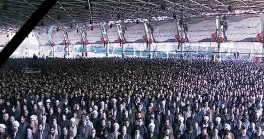 Ekber Haşimi Rafsancani'nin cenaze törenine binlerce kişi katıldı
