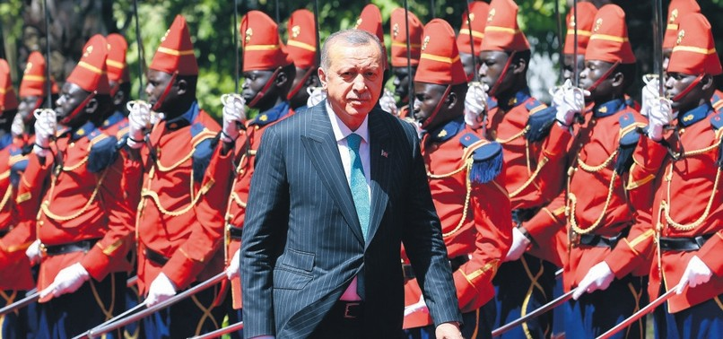 TURKEY COMMITTED TO STRENGTHENING TIES WITH AFRICA, ERDOĞAN SAYS