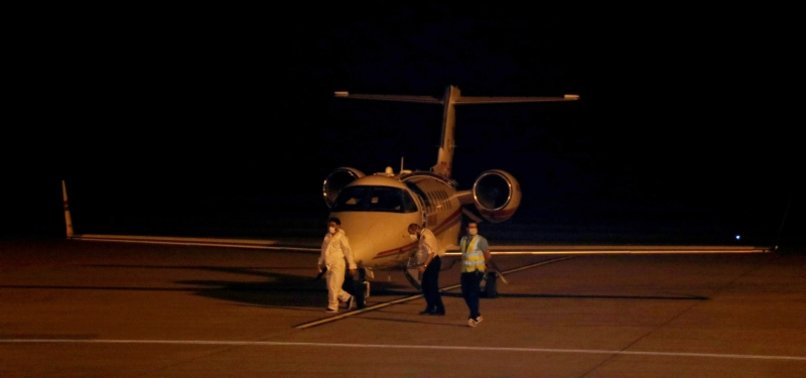 TURKEY REPATRIATES COVID-19 PATIENT FROM RUSSIA