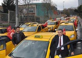 İstanbul'daki terör saldırısına taksicilerden tepki