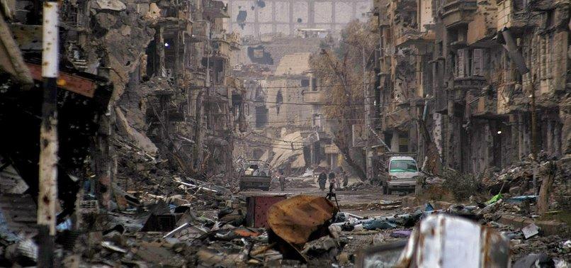AIR STRIKE KILLS 35 CIVILIANS IN SYRIAS DEIR EZZOR: MONITOR