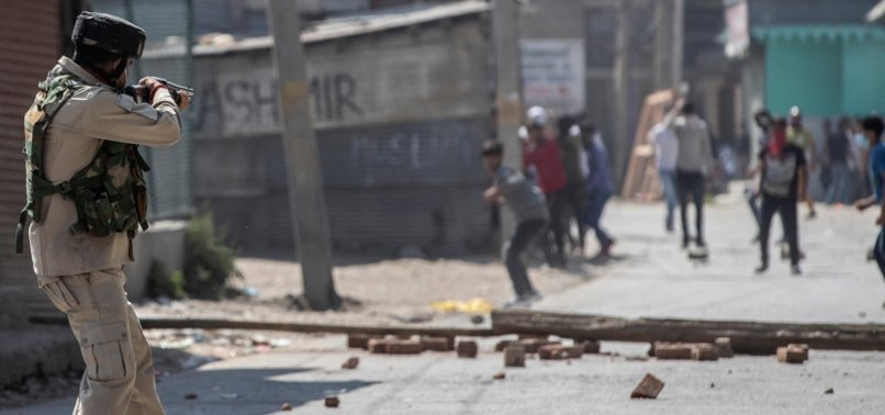 CLASHES IN INDIAN-ADMINISTERED KASHMIR AFTER FOUR KILLED
