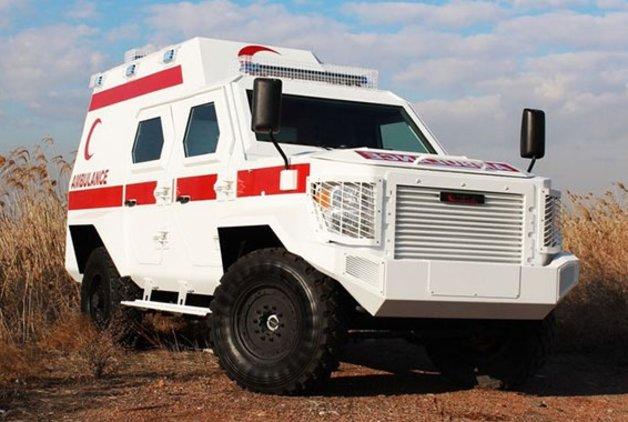 Zırhlı ambulanslar geliyor!