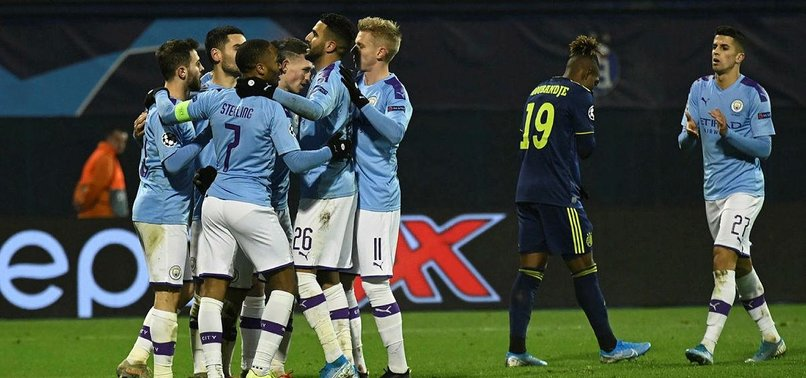 JESUS HAT-TRICK LIFTS MAN CITYS MOOD IN ZAGREB