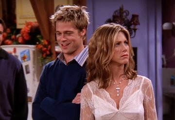 Jennifer Anistonın Favori Friends Konuğu Brad Pitt