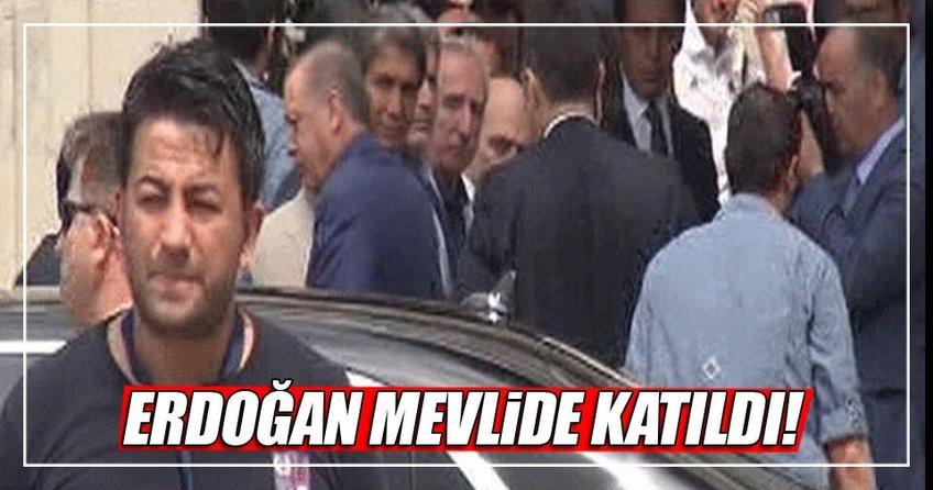 Cumhurbaşkanı Erdoğan mevlide katıldı