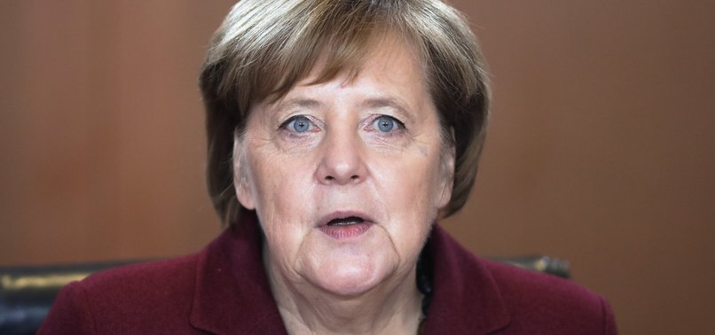 GERMANYS MERKEL SQUELCHES SPECULATION ABOUT FUTURE EU JOB