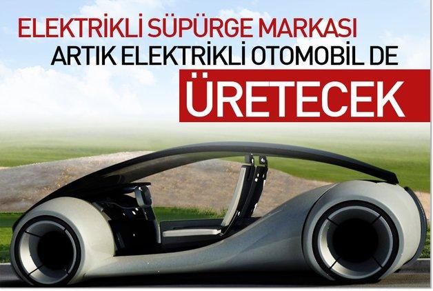 Elektrikli süpürge markası artık elektrikli otomobil de üretecek