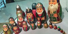 Matryoshka: Nesting dolls and symbol of Russia