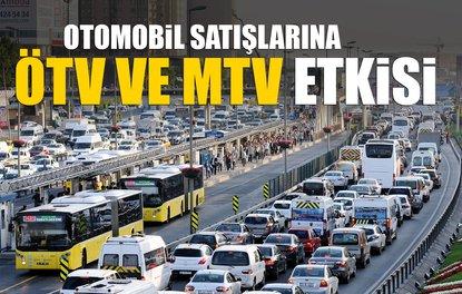 OTOMOBİL SATIŞLARINA ÖTV VE MTV ETKİSİ