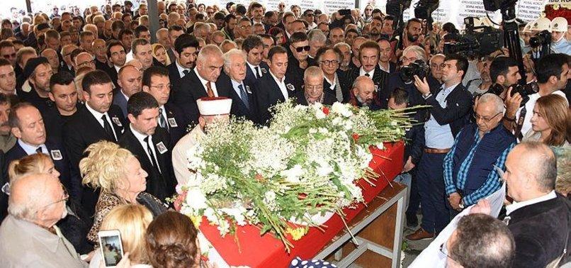 VETERAN TURKISH ACTRESS YILDIZ KENTER LAID TO REST