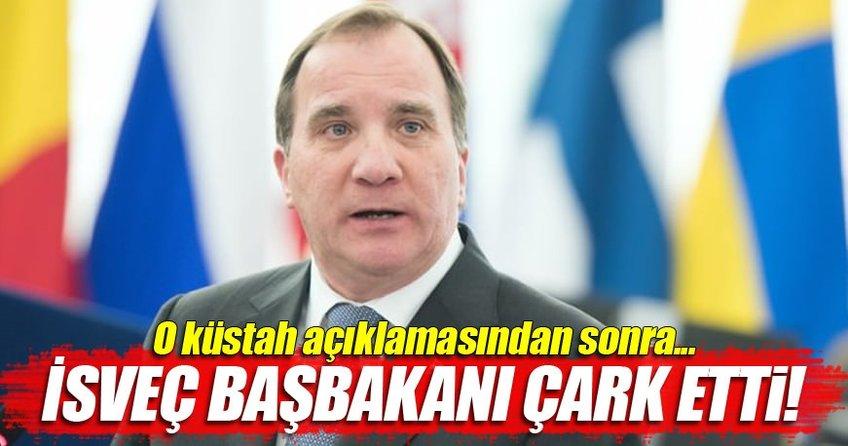 İsveç Başbakanı çark etti
