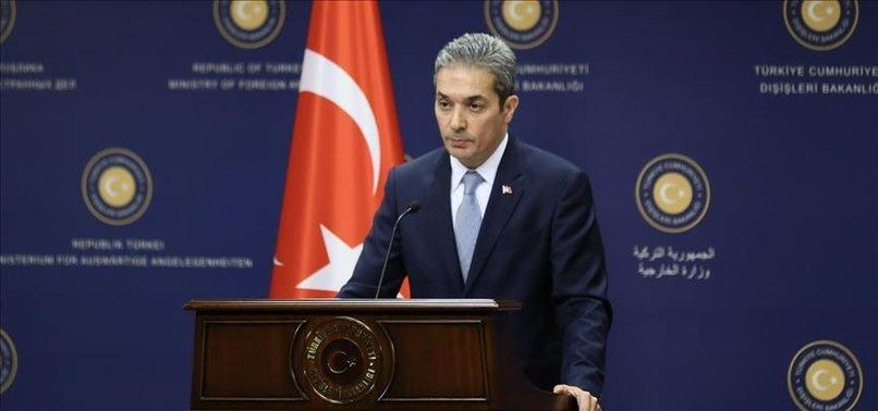 TURKEY WELCOMES US PUTTING BOUNTIES ON PKK TERRORISTS