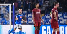 Liverpool's CL title defence begins with defeat to Napoli