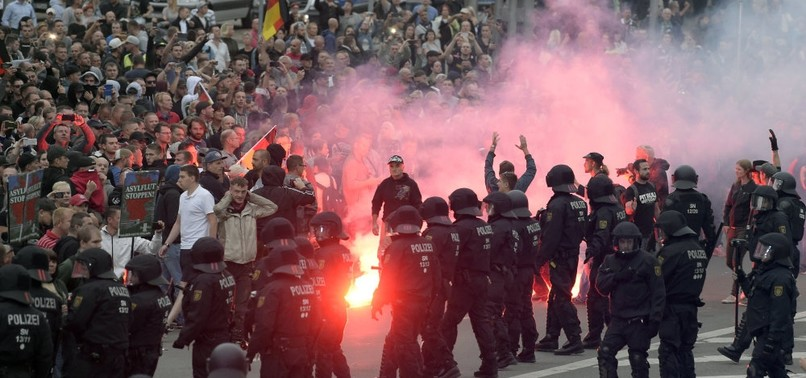 GROWING ALARM IN GERMANY OVER RISING FAR-RIGHT VIOLENCE