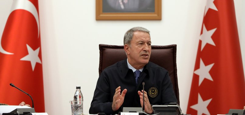 TURKEY TO START JOINT PATROLS WITH US ON SUNDAY, DEFENSE MINISTER AKAR SAYS