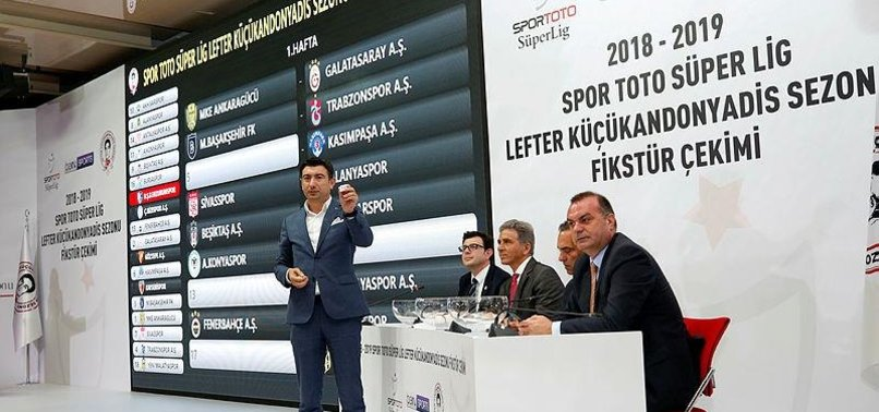 TURKISH LEAGUES 2018-2019 FIXTURE UNVEILED