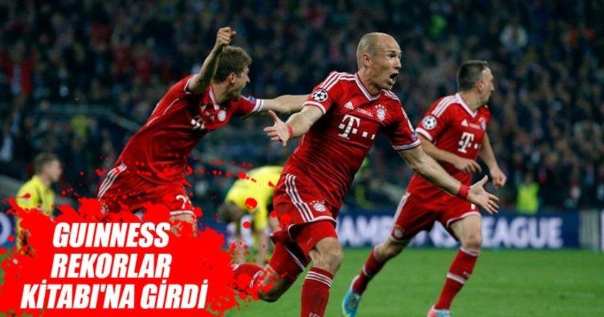 Bayern Münih, Guinness Rekorlar Kitabına girdi