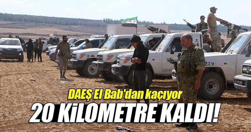 DAEŞ El Bab'dan kaçıyor