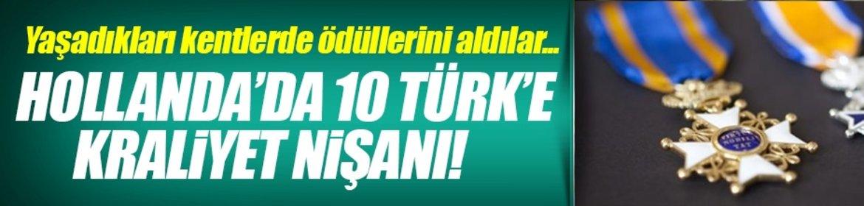 10 Türk'e Kraliyet Nişanı!
